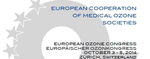 EUROPEAN OZONE CONGRESS / EUROPÄISCHER OZONKONGRESS
