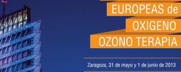 III JORNADAS EUROPEAS DE OXÍGENO – OZONOTERAPIA 2013