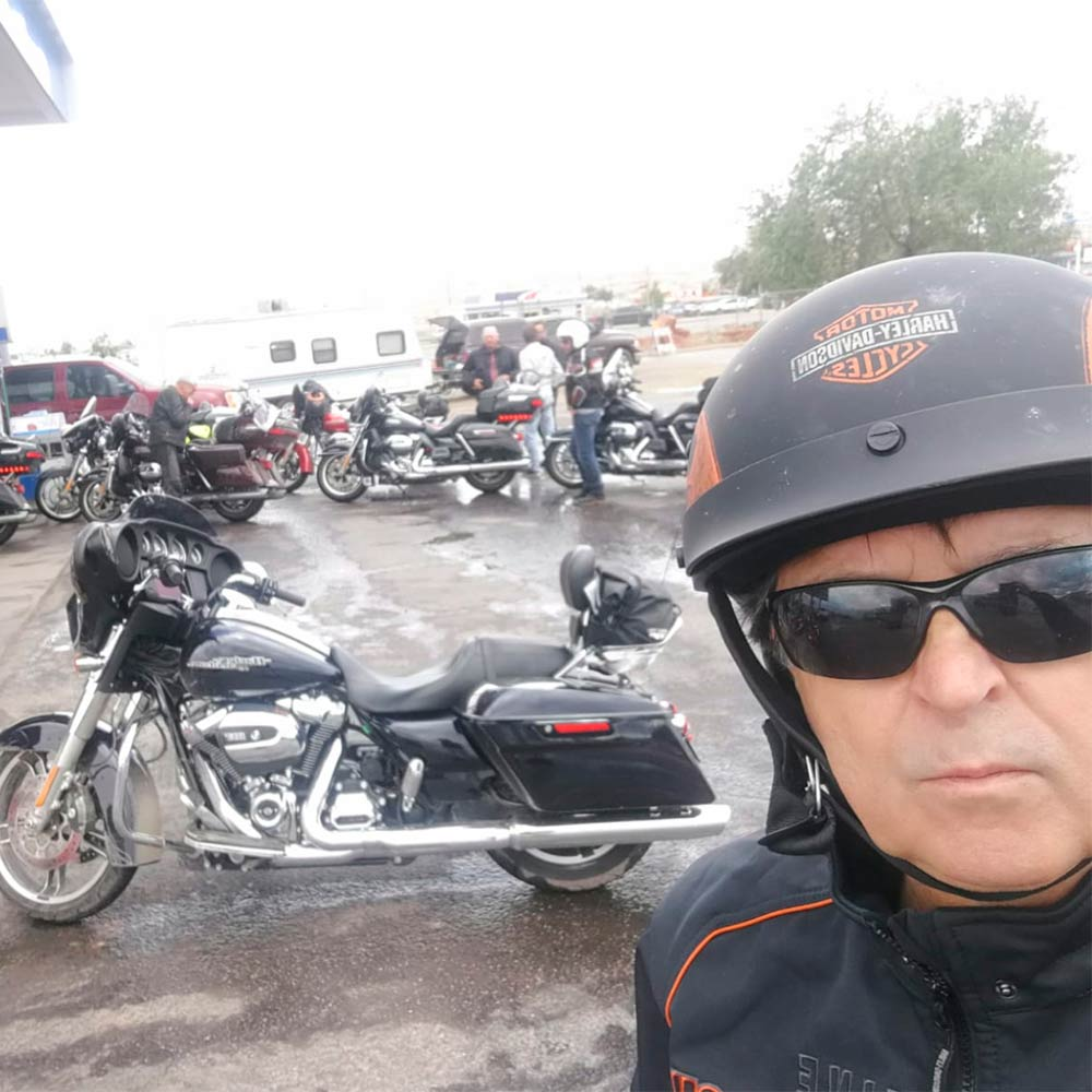 Repostando en Kayenta Arizona de vuelta a la ruta 66