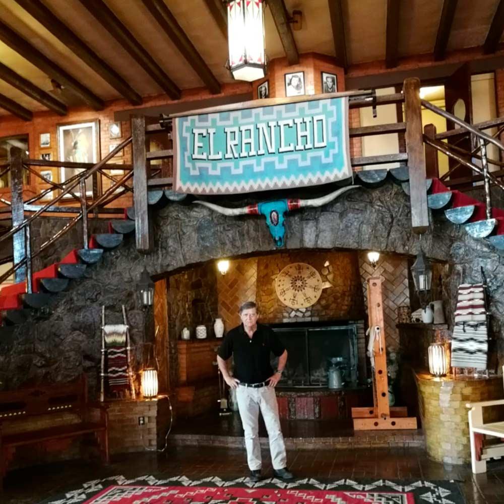 Hotel El Rancho en Gallup .
