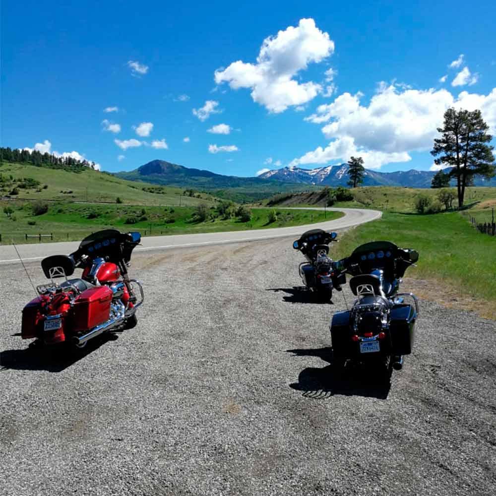 Hacia Durango. Al fondo las Montañas Rocosas
